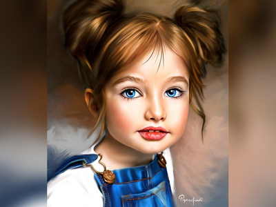 Sparkling Blue Eyes