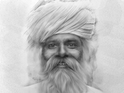 Man in Sketch
