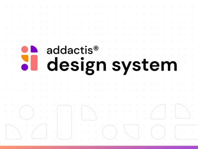 Logo design system typography web designer documentation dots grid gradient logo design system design