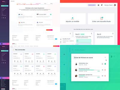 Best of 2018 2018 typography design app gradient ui sketch web