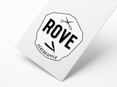 RoVe Barbershop Logo