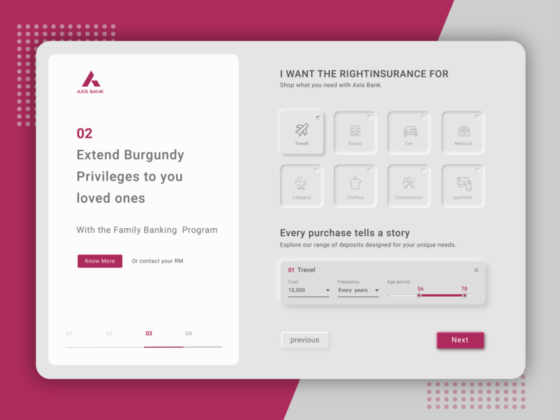 Axis Bank bank web  design webdesign web app website