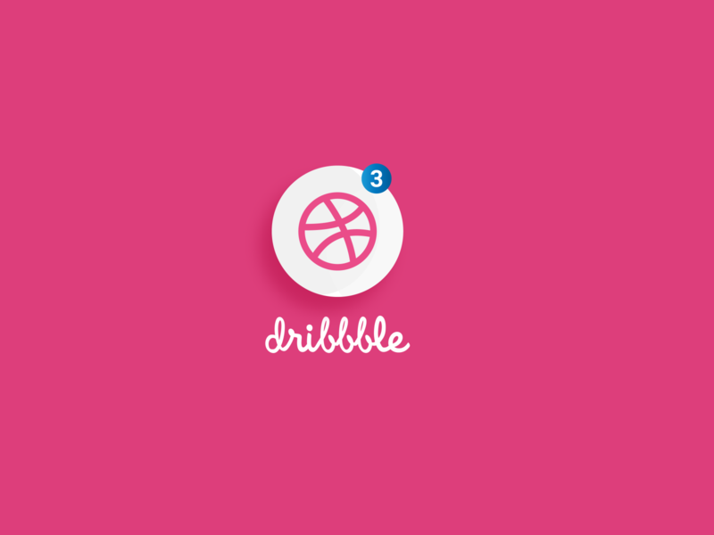 Dribbble logo design illustrator illustration