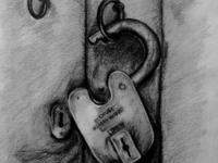 Door & Lock Sketch
