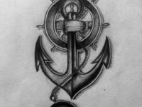 Pencil sketch_Tatoo design