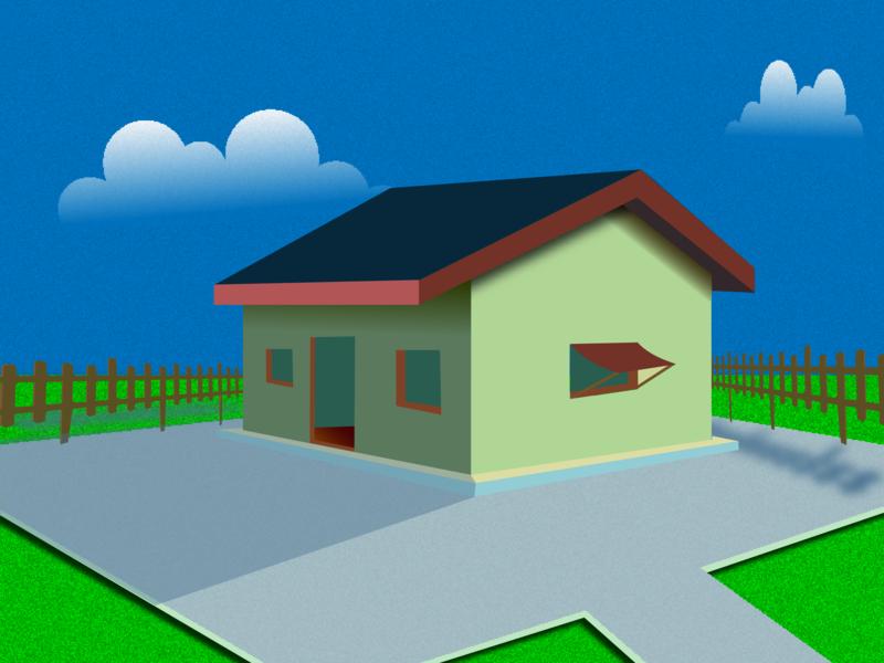 House logo illustrator illustration