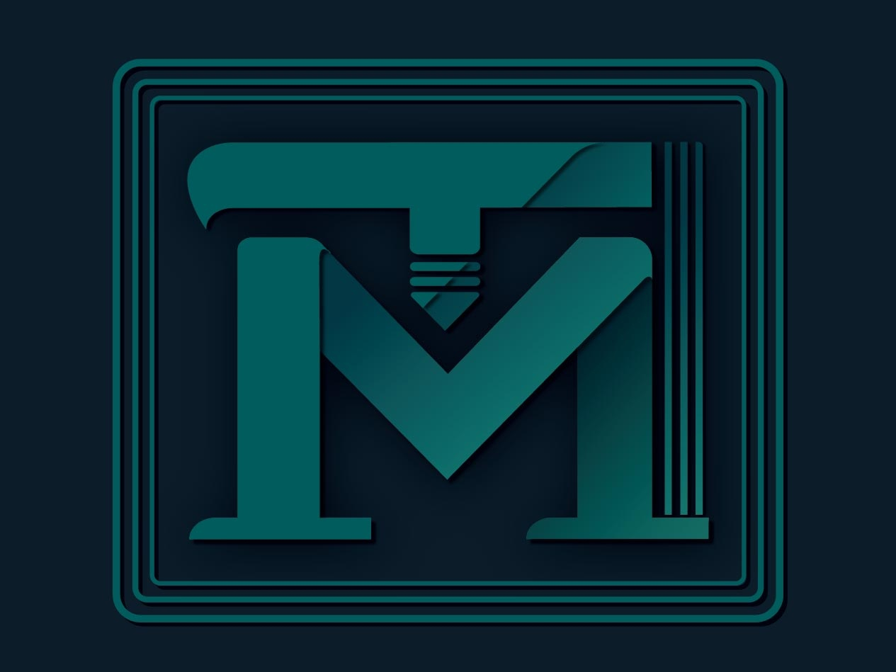 TM Logo logo illustrator illustration