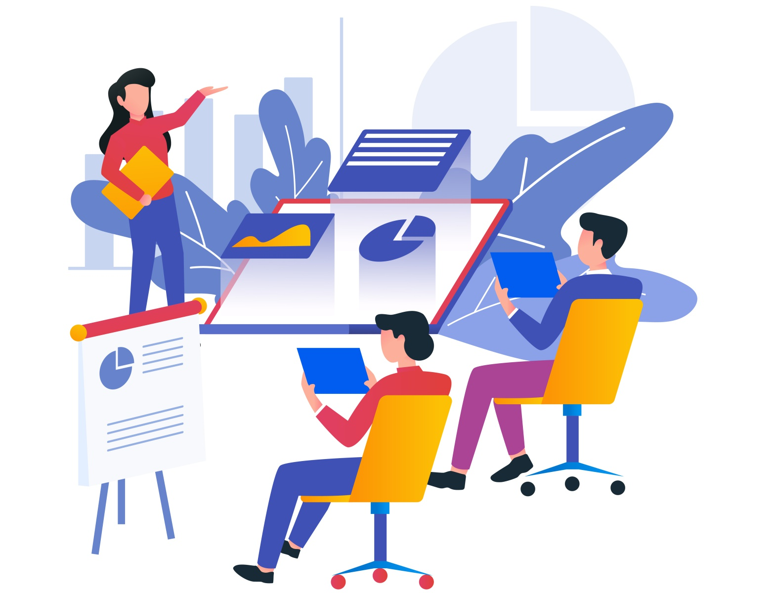 training illustration by Youngky Alfi Andi on Dribbble