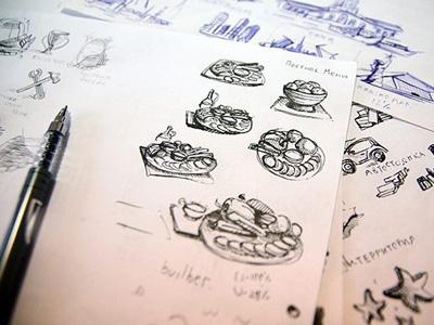 Ragout icon sketch