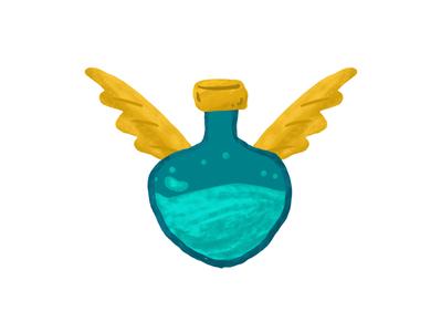 Flying Bottle