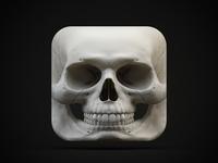 Skull iOS Icon