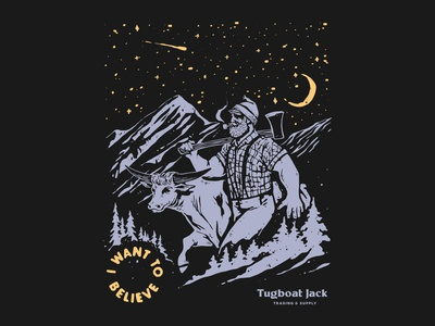 I want to believe lumberjack paul bunyan