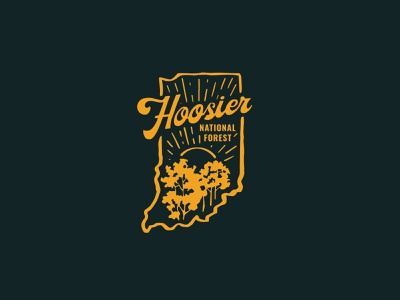 Hoosier National Forest Shirt Design hiking outdoors forest