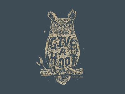 Give a Hoot Shirt Concept tshirt owl