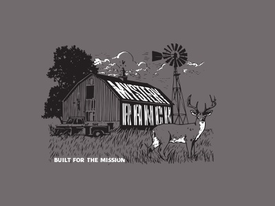 Mystery Ranch Farm tractor deer barn farm