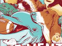 Ace Ventura Poster Detail