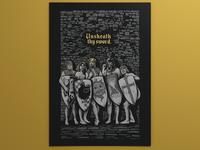 Full Monty Python Full Poster
