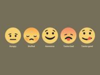 Facebook style emoticons