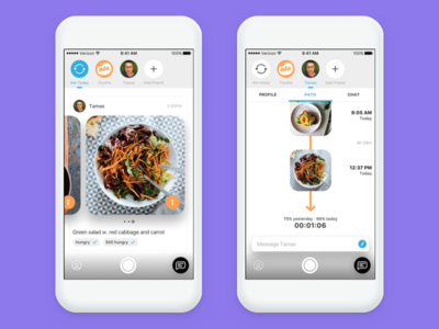 YouAte Friends ios path app iphone
