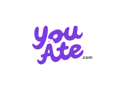 YouAte logo experiment 2. experiment logo