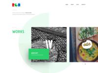 RGB - Portfolio Website