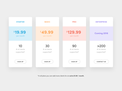 YouAte Coach - Plans and Pricing brand table pricing plans website youate