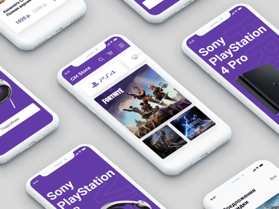 Game Store | Mobile Version