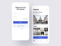VR museum App