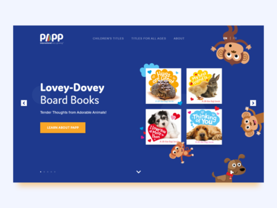 Papp International - Hero - Landing Page