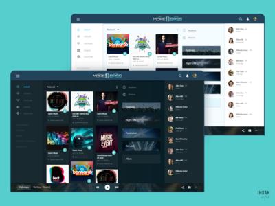 Dashboard - Morebass - Social media for music lovers