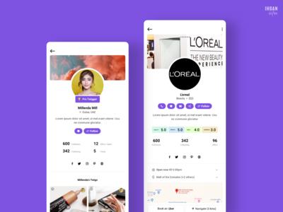 User & Business Profiles - TwigBig