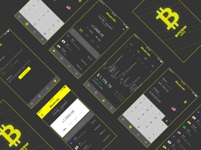 App Design - Bitcoin Info