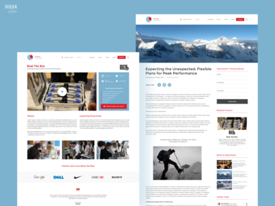 Landing Pages - CatalystGlobal