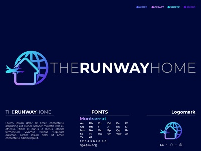 The Runway Home branding design street industry appearance icon skyscraper journey skyline city architecture building house realstate