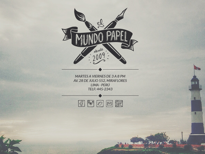 'El Mundo Papel' - Website