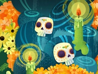Day of the Dead Detail
