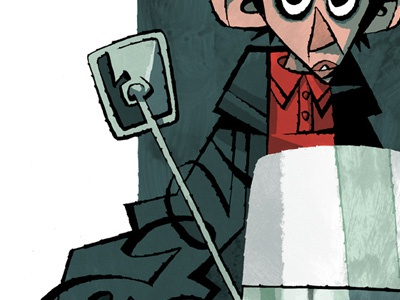 Quadrophenia Illustration illustration mod brushpen jimmy