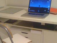 IKEA hack worktable
