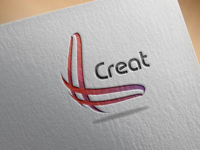 Creat image icon design vector typography illustration branding brand logo design logo graphics graphic design graphic creat