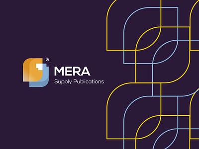 Mera Supply Publications ui icon vector logodesign logo illustration identity designer design branding