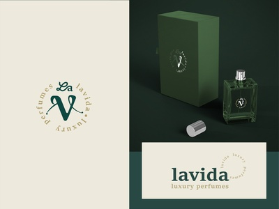 Lavida behance luxury branding perfumes luxury design luxury brand luxury logo mark ui vector logodesign icon designer logo illustration identity design branding