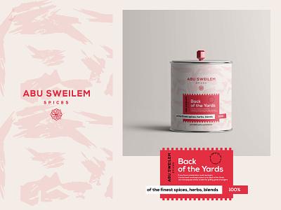 Abu Sweilem Spices Packaging spicecpackaging lable arabic spices packaging spices motion graphics graphic design 3d animation ux vector ui icon designer logo illustration identity design branding