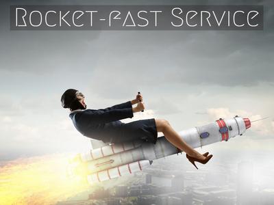 Rocket-fast