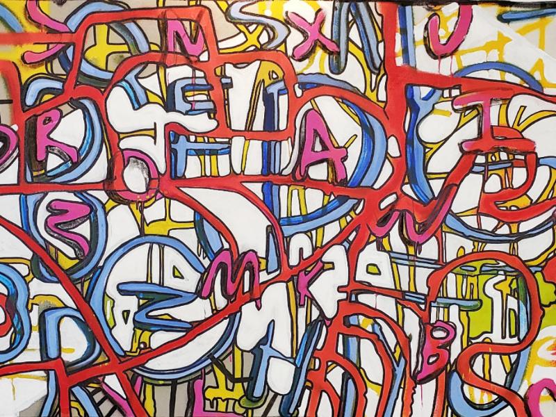 ABC's lifetakestime spraypaint art design grafitti painting