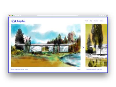 Simple layout simple website rendering illustration art branding logo layout web architecture