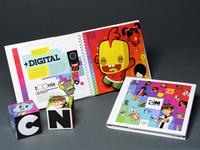 Cartoon Network sales kit