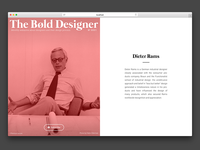 The Bøld Designer