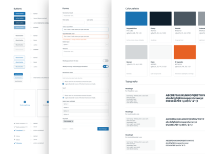 Degreed Style Guide web minimal clean style-guide
