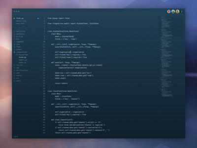 Text Editor app mac dark editor text