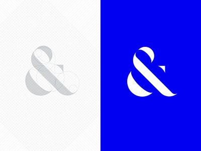 Ampersand Symbol logo grid logo grid glyph symbol ampersand